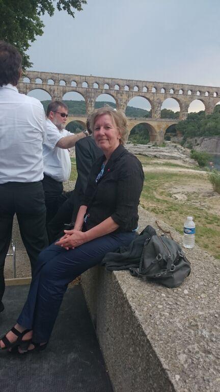 Hinergund: Pont Du Gard - Unesco Welterbe