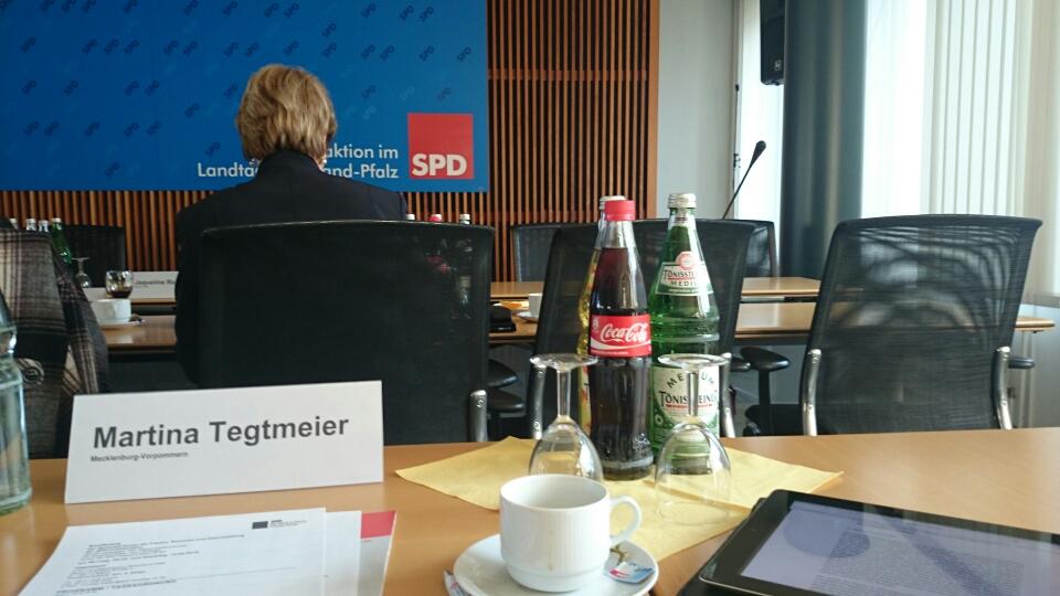 Konferenz der Frauen- und Gleichstellungspolitischen Sprecherinnen in Rheinland-Pfalz