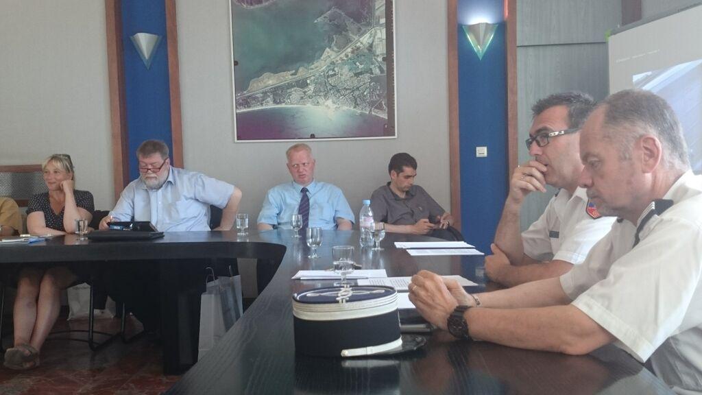 Zahlreiche Konsultationen mit Politei und Gemeindeorganen bildeten die Schwerpunkte unserer Reise.