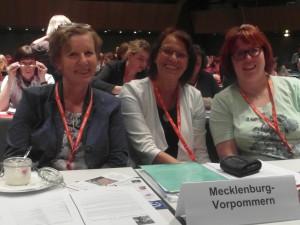 v. l. Martina Tegtmeier, Brigitte Pleß und Dr. Cathleen Kiefert-Demut